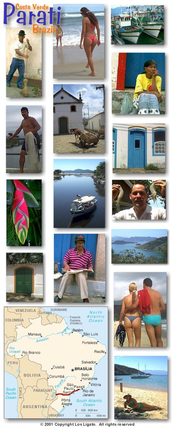 BAHIA SALVADOR, Brazil, Los Ligato Around The World In A